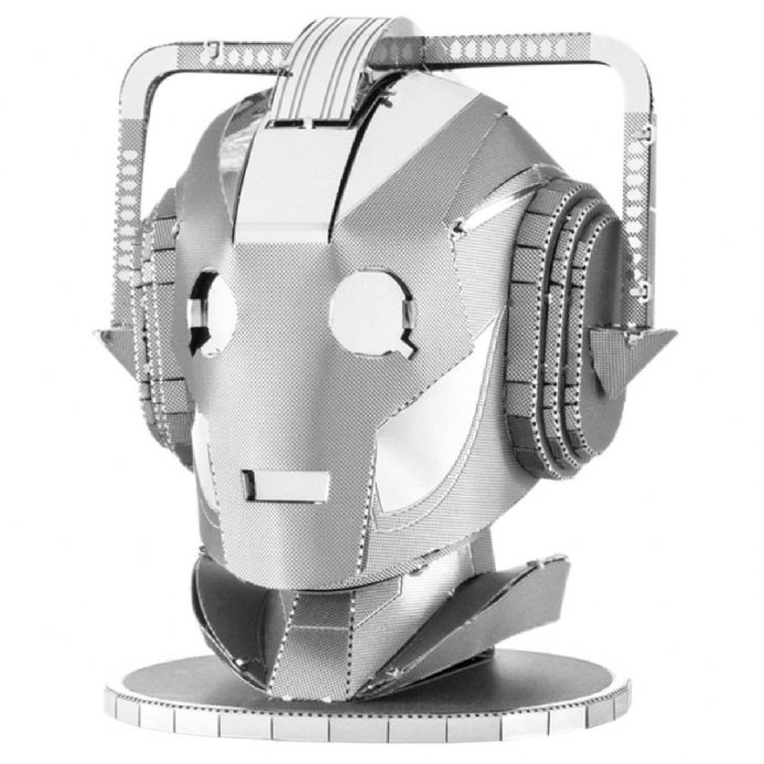 Dr Who Metal Earth Cyberman Head | Buy now at The G33Kery - UK Stock - Fast Delivery